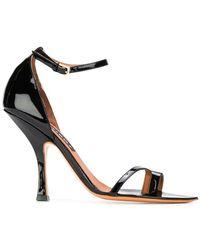Y. Project - Crystal Embellished Ankle Strap Sandals - Lyst
