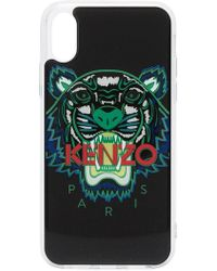 KENZO - Чехол Для Iphone X С Логотипом И Тигром - Lyst