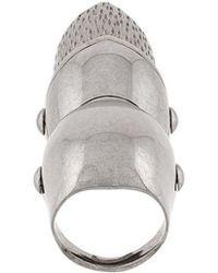 Balenciaga - Goth Gargoyle Articulated Ring - Lyst