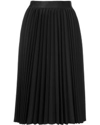 Astraet - Pleated Midi Skirt - Lyst