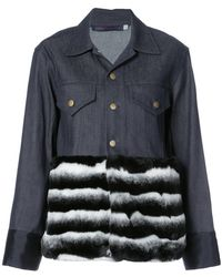 Harvey Faircloth - Contrast Material Jacket - Lyst