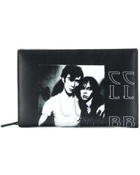Raf Simons - Printed Clutch Bag - Lyst