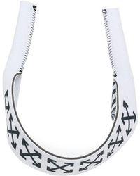 Off-White c/o Virgil Abloh - Logo Print Cuff - Lyst