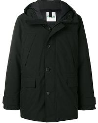 KENZO - Padded Fitted Coat - Lyst