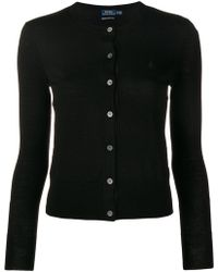 Polo Ralph Lauren - Classic Fitted Cardigan - Lyst