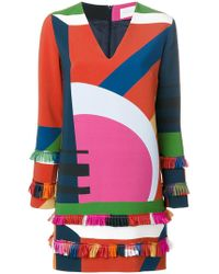 Parden's - Printed Dress - Lyst