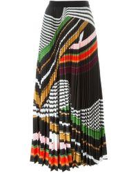 Mary Katrantzou - 'pelar' Pleated Maxi Skirt - Lyst