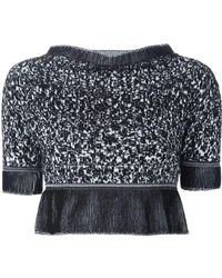 Vivienne Westwood Red Label - Knitted Cropped Top - Lyst
