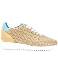 Mizuno - Patterned Lace-up Sneakers - Lyst