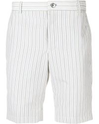 Thom Browne - Shorts chino a righe - Lyst
