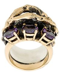 Voodoo Jewels - Stone Embellished Finger Ring - Lyst