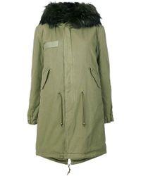 Mr & Mrs Italy - Fur Hooded Parka - Lyst