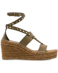 Jimmy Choo - Danica 80 Wedge Sandals - Lyst
