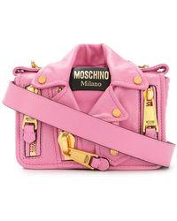 Moschino - Biker Mini Bag - Lyst