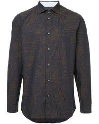 Loveless - Printed Longsleeved Shirt - Lyst