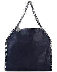 Stella McCartney - Large Blue Falabella Tote Bag - Lyst