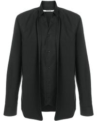 Chalayan - Double Layer Shirt - Lyst