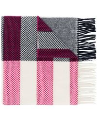 PS by Paul Smith - Dino Patch Striped Scarf - Lyst