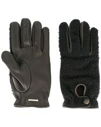 Lardini - Panelled Gloves - Lyst