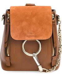 Chloé - Faye Mini Backpack - Lyst