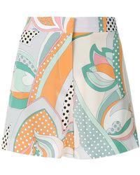 Emilio Pucci - Signature Printed Shorts - Lyst