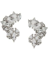 Elise Dray - Topaz & Diamond Earrings - Lyst