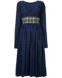 Natasha Zinko - Checkered Dress - Lyst