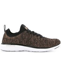 Athletic Propulsion Labs - Mélange Lace-up Sneakers - Lyst