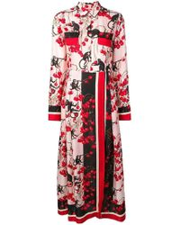 F.R.S For Restless Sleepers - Mixed-print Shirt Dress - Lyst