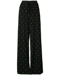 Prabal Gurung - Pearl Embroidered Trousers - Lyst