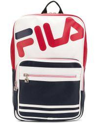 Fila - Colourblocked Basic Backpack - Lyst