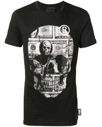 Philipp Plein - Rhinestone Skull T-shirt - Lyst
