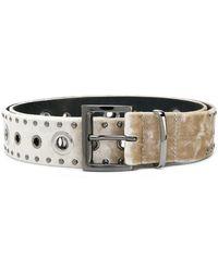 Dorothee Schumacher - Silver-tone Studded Belt - Lyst