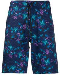 Dyne - Floral Printed Sport Shorts - Lyst