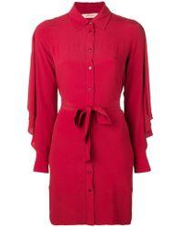 Twin Set - Crepe Shirt - Lyst
