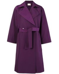 Simon Miller - Belted Trench Coat - Lyst