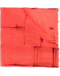 Suzusan - Tie Dyed Scarf - Lyst