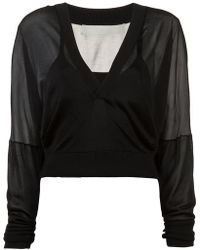 Dion Lee - Layered Lightweight Sweater - Lyst
