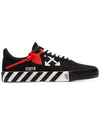 Off-White c/o Virgil Abloh - Zapatillas bajas Vulcanised - Lyst
