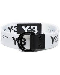 Y-3 - Cinturón con estampado del logo - Lyst