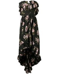 Philipp Plein - Full Of Flower Evening Dress - Lyst