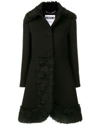 Moschino - Single-breasted Coat - Lyst