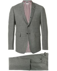 Thom Browne - Classic Suit With Tie In 2ply Fresco - Lyst