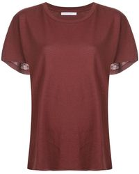John Elliott - Flared T-shirt - Lyst