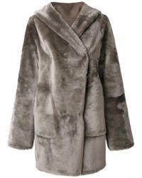 Sylvie Schimmel - Hooded Coat - Lyst