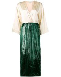 L'Autre Chose - Sheen Wrap Skirt - Lyst