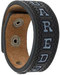 DSquared² - Embossed Logo Bracelet - Lyst