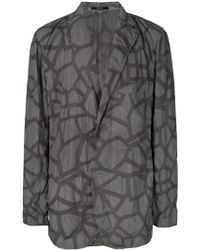 Issey Miyake - Abstract Print Jacket - Lyst