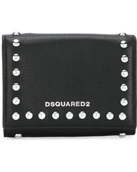 DSquared² | Icon Snap Stud Wallet | Lyst