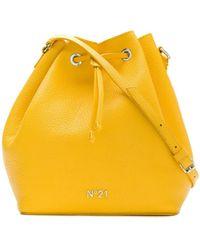 N°21 - Drawstring Bucket Bag - Lyst